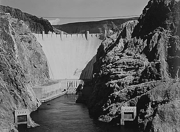 Sept. 30, 1935: Hoover Dam dedicated