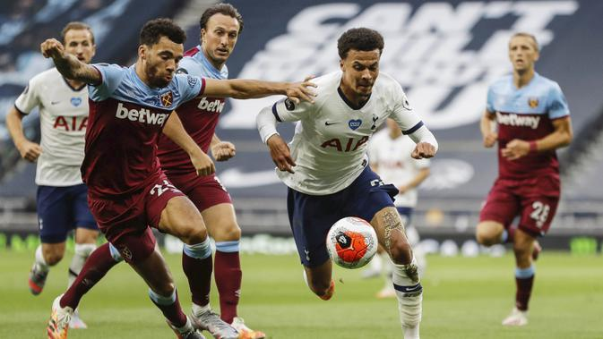Liga Inggris: Fakta-Fakta Jelang Derbi London Tottenham Hotspur Vs West Ham United