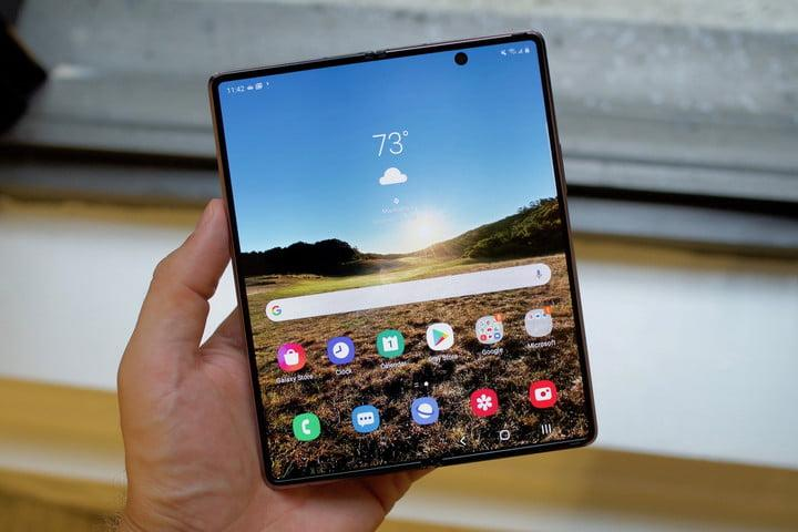 samsung galaxy z fold 2 first hands on features price photos release date unfolded screen