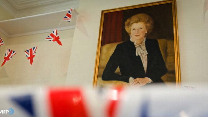 Lukisan Margaret Thatcher (AFP)