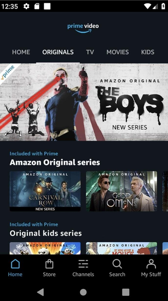 best android apps amazon prime video android3