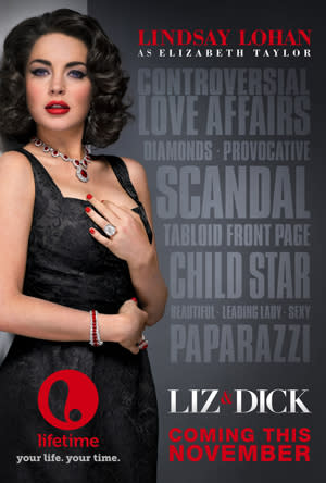 'Liz & Dick' trailer released: Watch Lindsay Lohan do her best Elizabeth Taylor