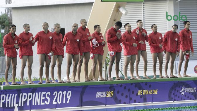 Filipina Ditahan Imbang Singapura, Timnas Polo Air Indonesia Amankan Emas SEA Games 2019