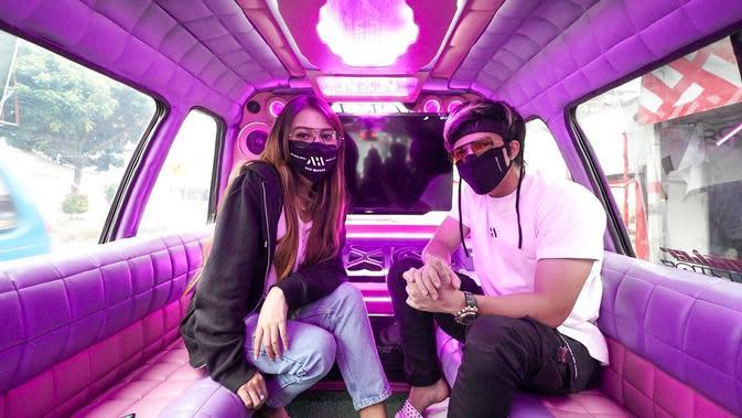 Aurel Hermansyah dan Atta Halilintar (Instagram/aurelie.hermansyah)