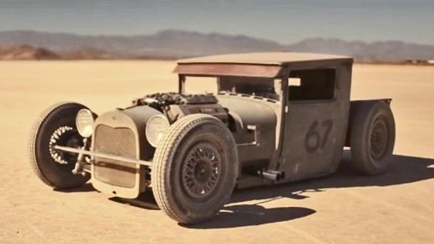 Stance guru builds slammed '28 Ford hot rod with BMW power, just because
