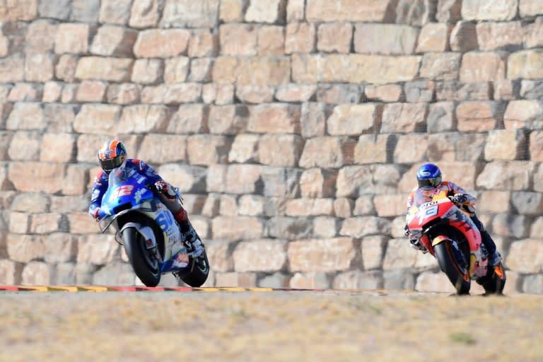 Rins wins Aragon MotoGP as Mir takes championship lead