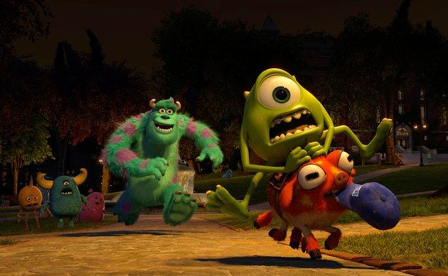 'Monsters U' Director & Producer Tell Us Why Pixar Monsters Have Mullets