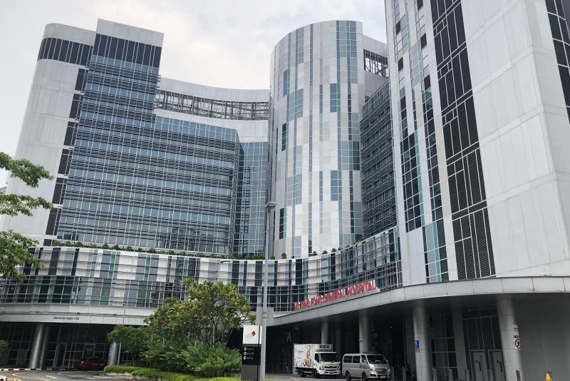 Ng Teng Fong General Hospital. (PHOTO: Dhany Osman / Yahoo News Singapore)