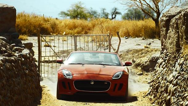 """Jaguar and Ridley Scott create an F-Type movie in """"Desire"""""""