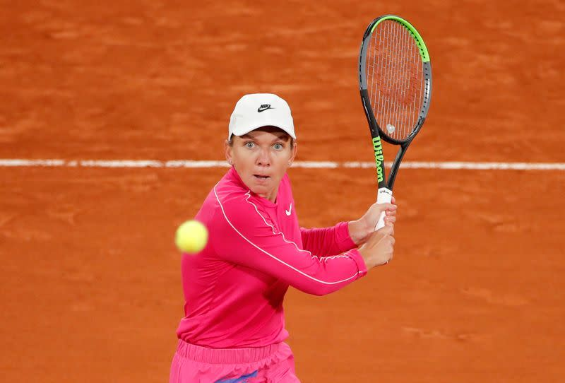 Birthday girl Halep sails through after slow start