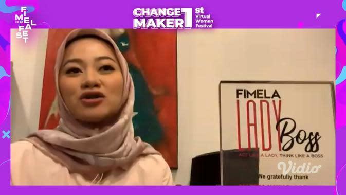 Allyssa Hawadi sebagai Fimela Lady Boss