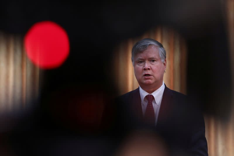 No. 2 U.S. diplomat Biegun will visit Russia, Lithuania amid Belarus crisis