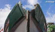 警示燈浮漂移原位 蘇澳3漁船撞消波塊