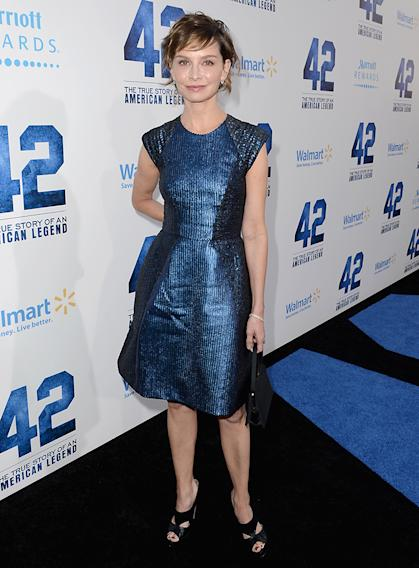 "Premiere Of Warner Bros. Pictures' And Legendary Pictures' ""42"" - Red Carpet"
