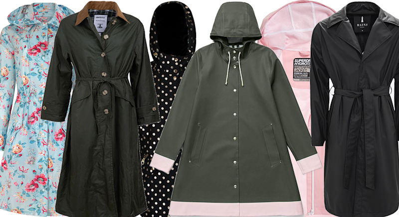 12 of the best waterproof jackets for women [Photo: Yahoo Style UK]
