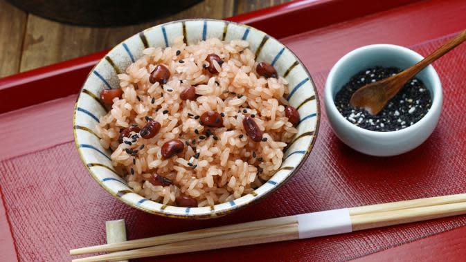 Resep Sekihan, Nasi dan Kacang Merah ala Jepang