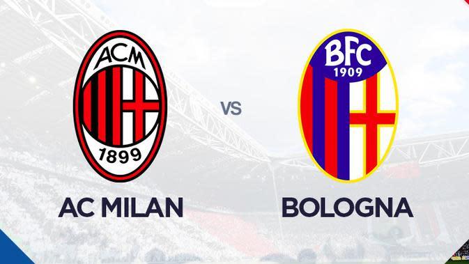 Liga Italia: AC Milan vs Bologna. (Bola.com/Dody Iryawan)