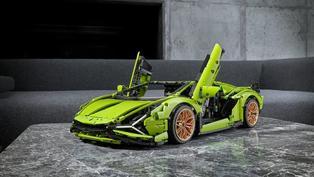 Lamborghini與LEGO合作推出Sián FKP 37 1:8模型(內有影片)