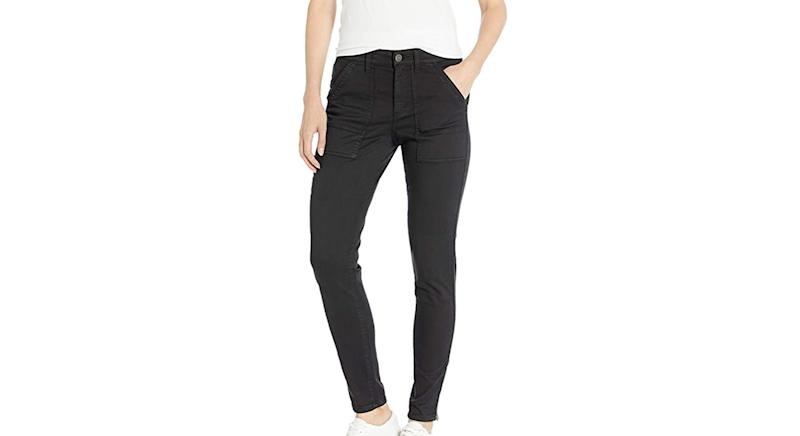 Daily Ritual Women's Stretch Cotton Pant