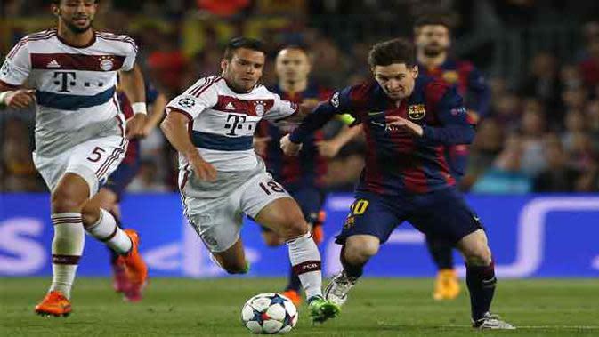 Tiki Taka adalah gaya permainan dari klub Barcelona yang 80 persenya didominasi oleh Lionel Messi.