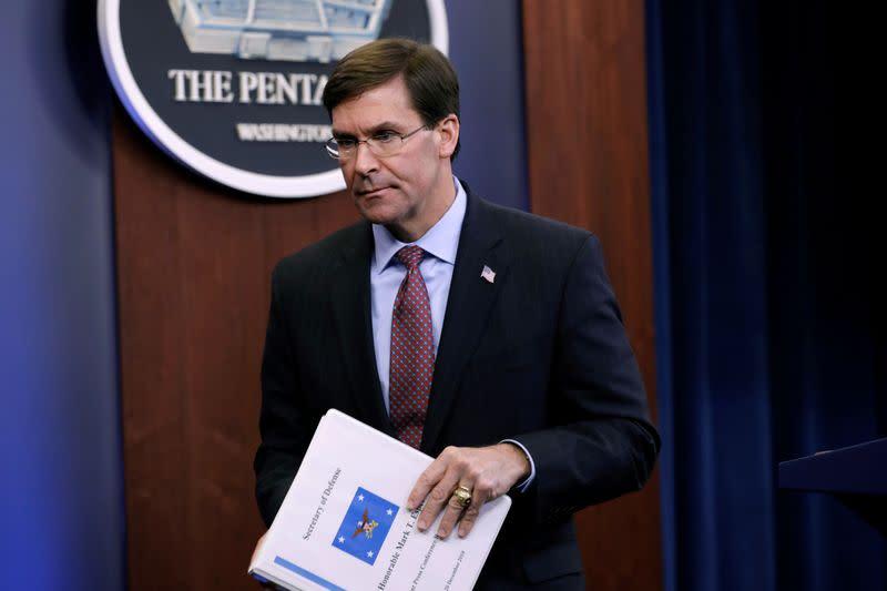 U.S. should expect Iran to retaliate, defence secretary says