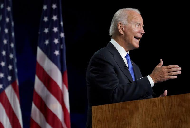 In battleground Pennsylvania, Biden accuses Trump of stoking violence
