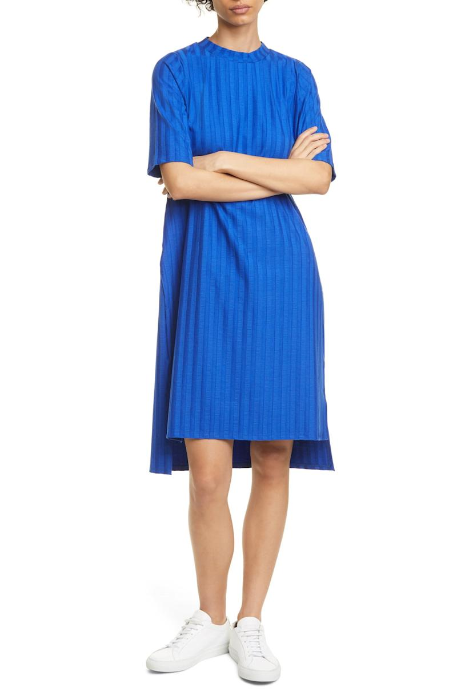 Eileen Fisher Texture Stripe T-Shirt Dress. Image via Nordstrom.