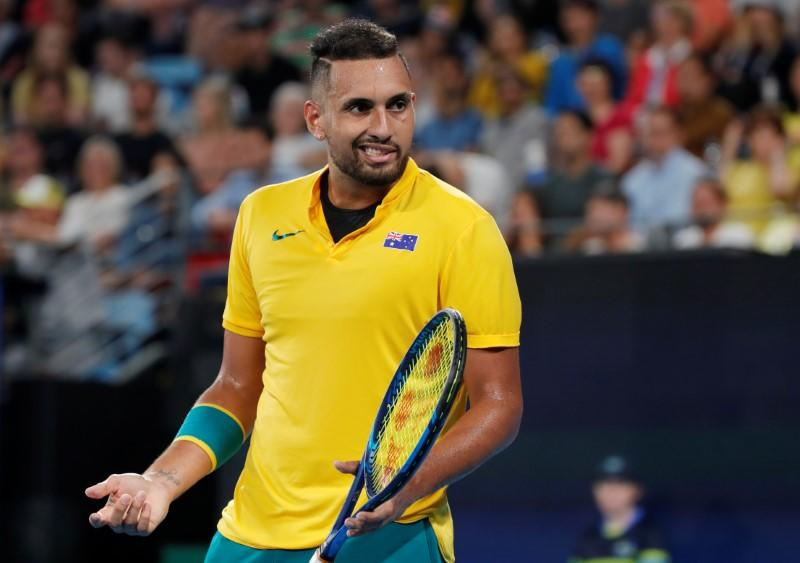 Melbourne Park ready to embrace the Kyrgios that cares