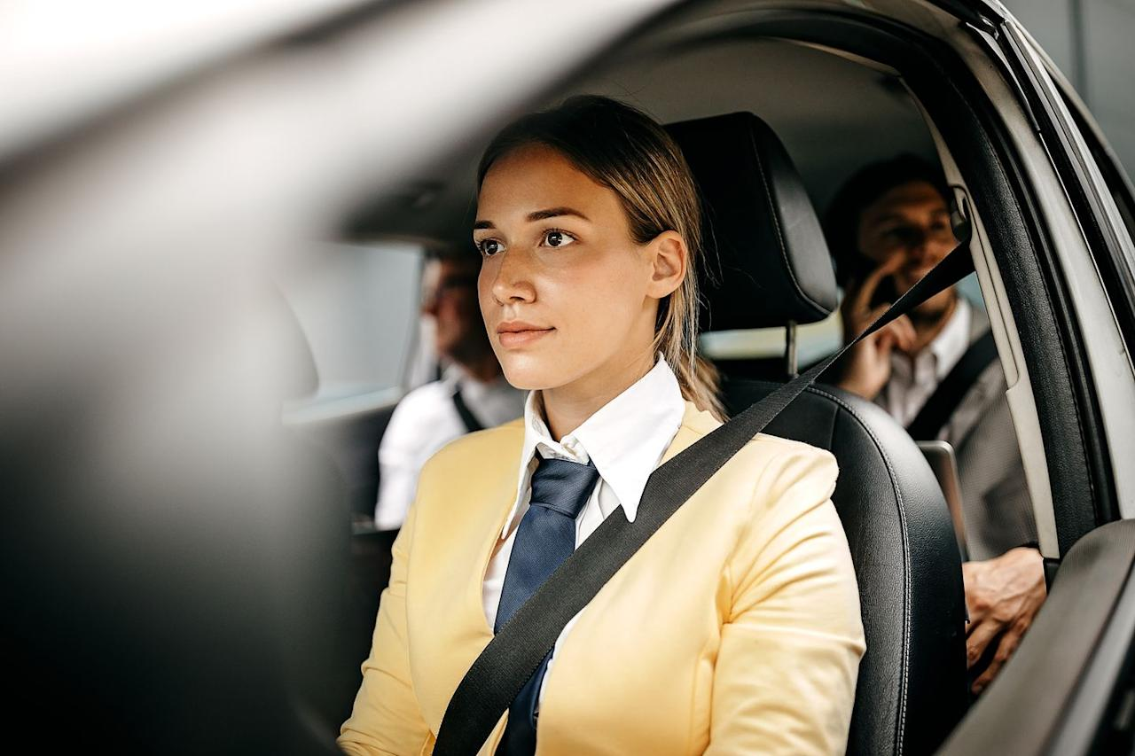 """<p>You've likely used the services of<a href=""""https://www.uber.com/a/signup/drive/deliver/""""> Uber</a> or <a href=""""https://www.lyft.com/drive-with-lyft?"""">Lyft</a> in the past, but hopping behind-the-wheel of these ride sharing services is a great way to make a quick buck. Once you've done a simple background check and uploaded all your pertinent documents (license, registration, insurance) you can hit the road. If you're in a popular area, or near a major airport, you can rake in some serious cash, and there are safety and cleaning protocols in place while driving during the pandemic to help keep you safer.</p>"""