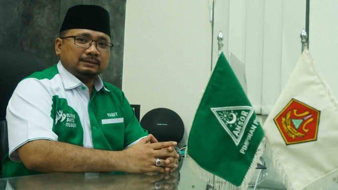 GP Ansor Cabut Laporan Pengunggah Foto Wapres Ma'ruf-Kakek Sugiono