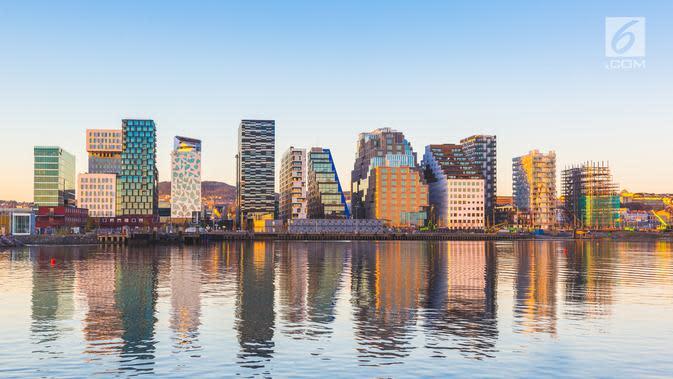 Kota Oslo, Norwegia (iStockphoto)