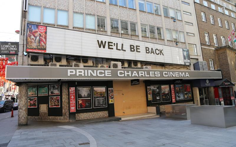 Britain's independent cinemas were forced to close during the lockdown, and now fear for their futures again - Anadolu