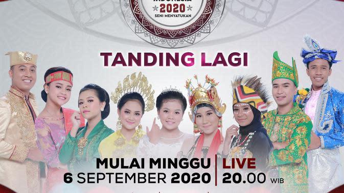LIDA 200 Top 9 tandi langi mulai Minggu (6/9/2020) malam di Indosiar