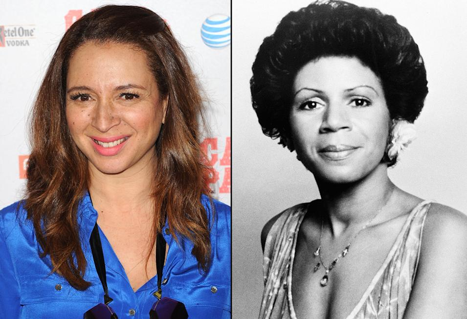 Maya Rudolph, Minnie Riperton, Actors with Musician Parents