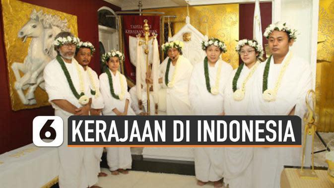 VIDEO: Sederet Kerajaan yang Sempat Hebohkan Indonesia
