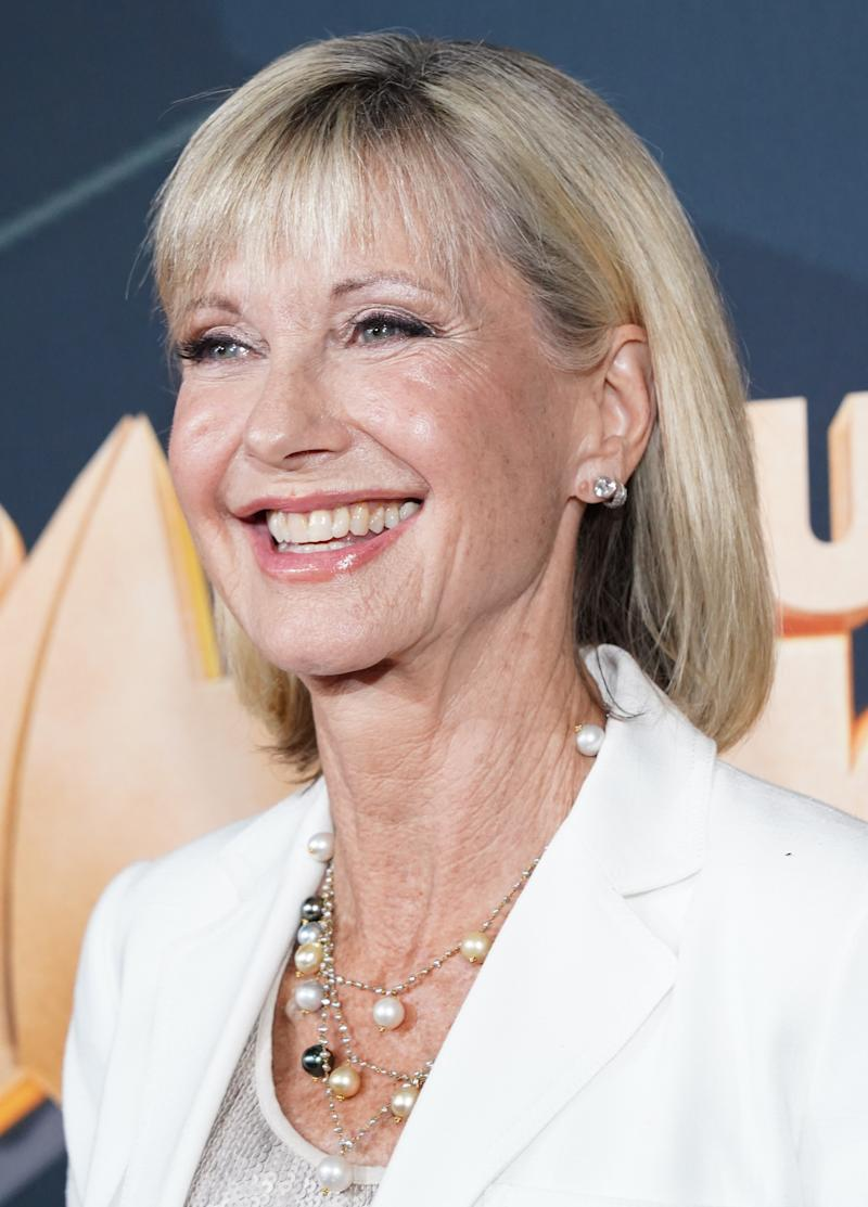 Olivia Newton-John sat down with 'CBS This Morning' to discuss battling cancer for a third time at age 71. (Photo: Rachel Luna/FilmMagic)