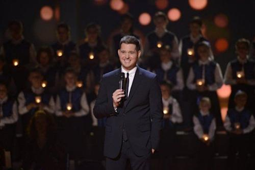 Michael Buble Croons About NBC Holiday Special, Says Carrie Underwood Has 'Pretty Big Balls' for 'Sound of Music'