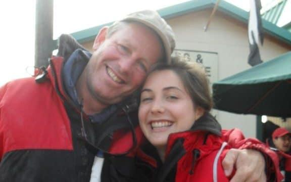 """Nic Hart with his daughter Averil, whose death from anorexia was described as an """"avoidable tragedy"""" in a report"""