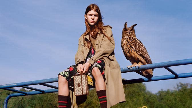 Gucci merilis kampanye terbaru untuk koleksi musim Pre-Fall 2020 yang membangkitkan memori masa kanak-kanak, penasaran?. Sumber foto: Document/Gucci.