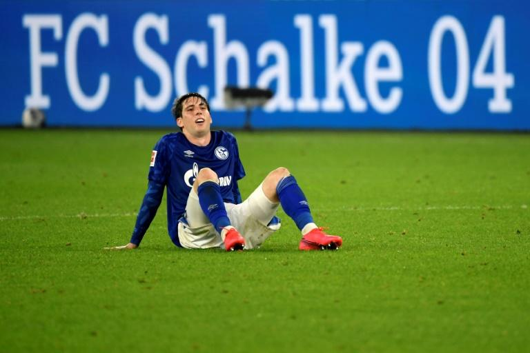 Schalke's Juan Miranda conceded the own goal on Sunday which meant the Royal Blues are 13 league games without a win - a new club record