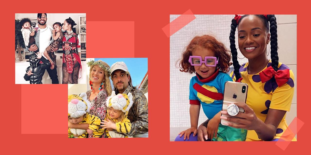 """<p>You and your troupe will be #familygoals with these totally original, perfectly coordinated family Halloween costumes. This year, ditch the solo ideas and break the internet with a viral-worthy costume the whole gang can join in on. From classic pop-culture phenoms to your favorite midnight snacks (you eat tacos at midnight, right?), get the whole family involved in choosing <a href=""""https://www.bestproducts.com/lifestyle/news/g1733/group-halloween-costumes/"""" target=""""_blank"""">this year's group costume</a>. The best part of family costumes is that a clan of any size can take part. Whether you are rolling five or more people deep or just hanging as a duo, there is a family costume idea for you.</p><p>No matter if you get creative and DIY them, or just purchase prepackaged costumes, these family Halloween costume ideas are sure to steal the spotlight.</p>"""