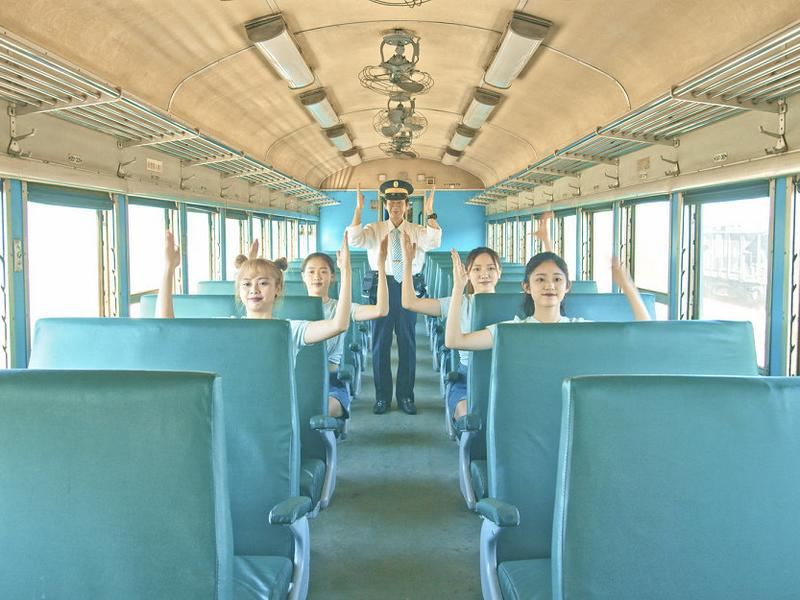 最美火車:南迴線藍皮火車