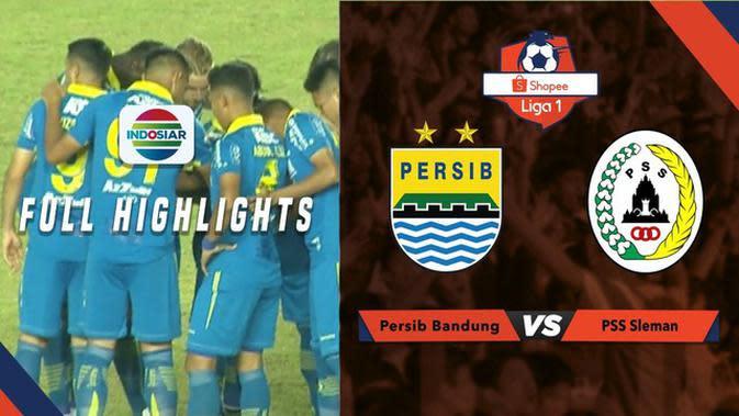 VIDEO: Flashback Shopee Liga 1, Persib Bandung Taklukkan PSS Sleman Berkat Gol Menit-Menit Akhir Erwin Ramdani