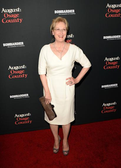 "Premiere Of The Weinstein Company's ""August: Osage County"" - Arrivals"