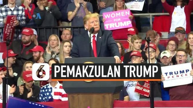 VIDEO: Donald Trump Akan Hadapi Sidang Senat Amerika