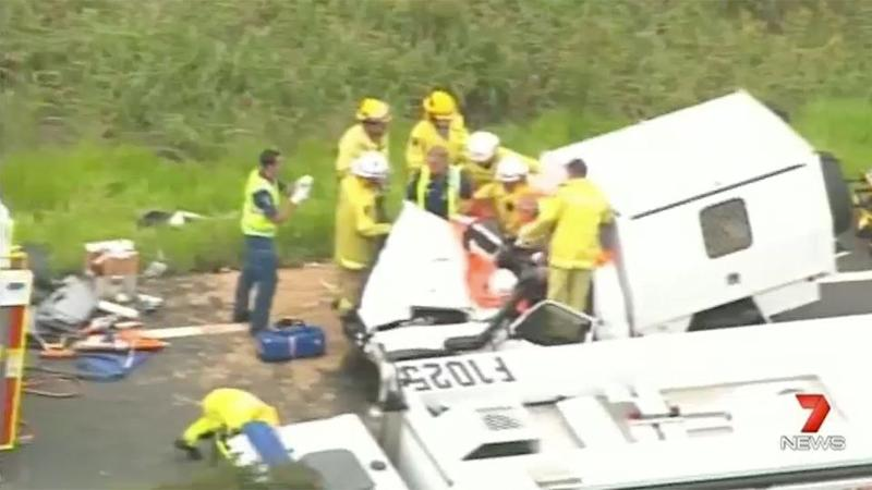 Fatal multi car crash on Bruce Highway