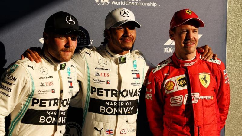Lewis Hamilton equals F1 pole record