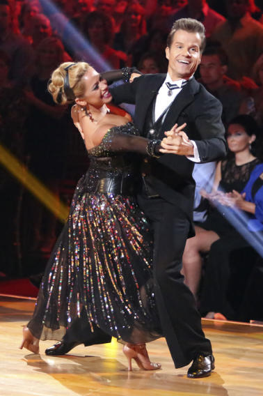 Sabrina Bryan and Louis Van Amstel (10/1/12)