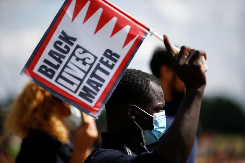 Black Lives Matter protest, in London