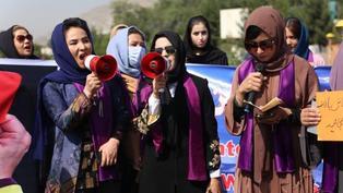 阿富汗局勢:塔利班驅散喀布爾女性示威 潘傑希爾山谷衝突仍在繼續